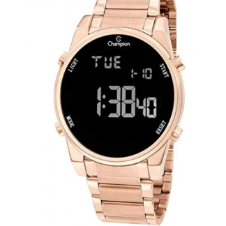 Relógio Feminino Digital Rose Gold